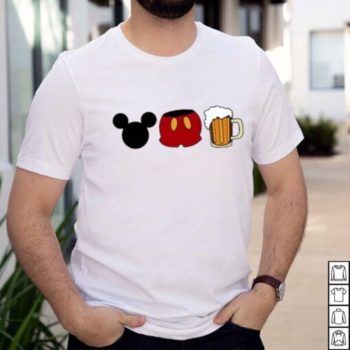 Disney mickey mouse beer shirt 6