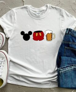 Disney mickey mouse beer shirt 10