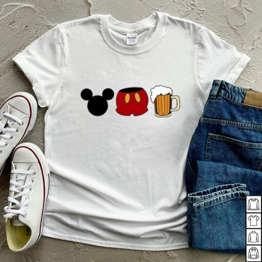 Disney mickey mouse beer shirt 7