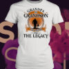 Grandpa And Grandson The Legend And The Legacy Retro shirt 3