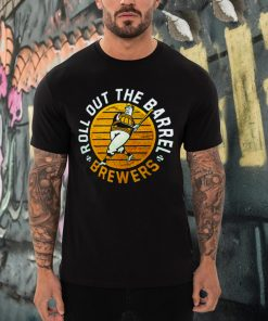 Milwaukee Brewers Roll Out The Barrel t shirt (1)