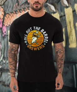 Milwaukee Brewers Roll Out The Barrel t shirt