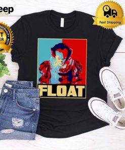 Pennywise horror halloween float shirt