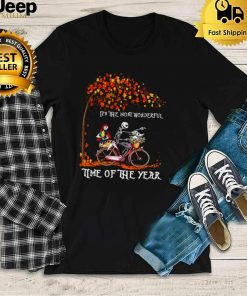 Sally And Jack Skellington Its The Most Wonderful Time Of The Year T shirt