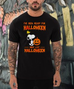 Snoopy Ive been ready for Halloween since last Halloween shirt