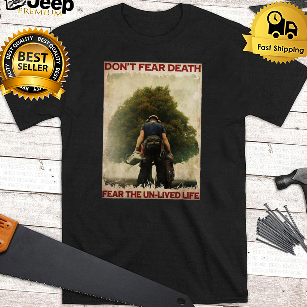 Topper Dont Fear Death Fear The Unlived Life Vintage T shirt