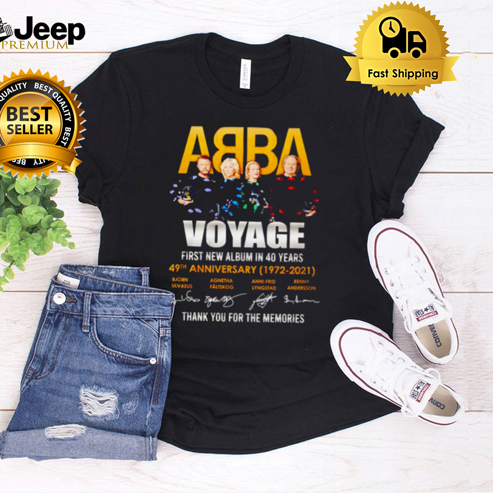 ABBA voyage 49th Anniversary thank you for the memories shirt