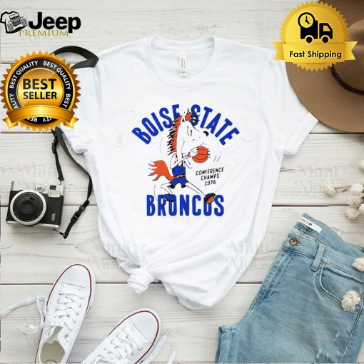 Boise State Broncos conference champs 1976 shirt