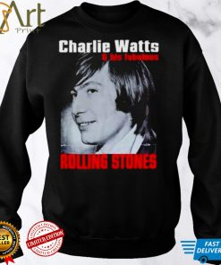 Charlie Watts and his Fabulous Rolling Stones shirt